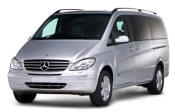 Chauffeur driven Mercedes Viano people carrier - Up to 7 passengers in comfort, from Cars for Stars (Portsmouth)